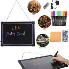 Erasable Led Light Drawing Board Message Advertizing Sign Writing Panel With Highlighter Remote Hanging Vhain Kit 110v To 240v Matching In Colour Tool Parts