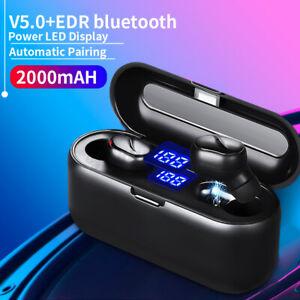 Bluetooth 5.0 Wireless Headphones TWS Earphones Mini In-Ear Pods Bass Earbuds