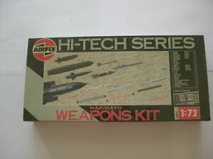 1|72 Model HI-TECH SERIES RAF/NATO WEAPONS KIT Airfix D10-2874