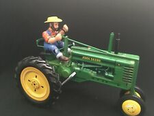 """John Deere Tractor, Model """"B"""" Wind Up, Franklin Mint Classic Tin Collectibles"""