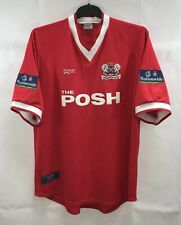 Peterborough Shields 20 Match Worn Away Football Shirt 1999/00 Adults XL Soke