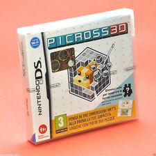 PICROSS 3D NINTENDO DS puzzle game NUOVO Compatibile 3ds