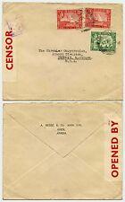 Aden per USA WW2 censurare No. 1 stampato env.a.besse + Co Automotive CHRYSLER 3 1 / 2A