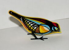 Vintage Tin Pecking Oriole Robin Key Wind-Up Toy 1980s? Nos New Box Belarus