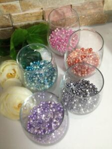 Pearl Confetti, Table Pearl Scatters, Vase Fillers - No Hole pearls