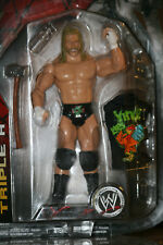 """(2007) WWE LIMITED Action Figure  DX  TRIPLE H w/ """"Vince Likes Cock"""" T-Shirt."""