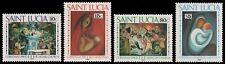 St. Lucia 1991 - Mi-Nr. 995-998 ** - MNH - Weihnachten / X-mas