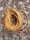 Waxed Cotton Cord 5 Metres Orange 2Mm Thick DIY Necklace Jewellery