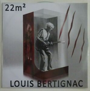 LOUIS BERTIGNAC : 22m2 (VERSION EDIT) ♦ CD SINGLE PROMO ♦