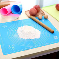 Non-Stick Silicone Mat Rolling Dough Liner Pad Pastry Cake Bakeware Paste_HC