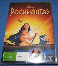 DISNEY POCAHONTAS DVD - REGION 4 - BRAND NEW - HARD TO FIND