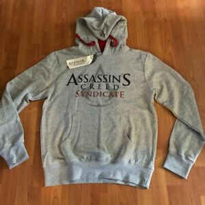 ASSASSINS CREED SYNDICATE Hooded Sweater Ubisoft Small NEW