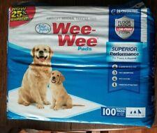 "Four Paws Dog Cat Pet Wee Wee Pads Original 100 Pack 22"" x 23"""