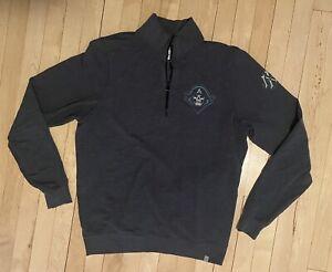Milwaukee Admirals Quarter Zip Sweatshirt Pullover Size M