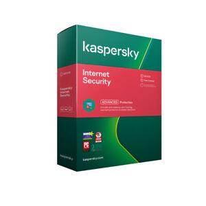 Kaspersky Internet Security Multi Device 2021  + varianti