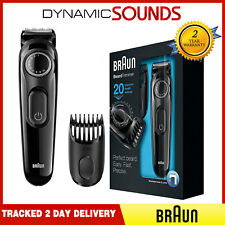 Braun BT3020 Beard Trimmer, Rechargeable, Cordless with Adjustable Length