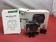 Campark ACT74 16MP 4K Waterproof Action Camera- USED