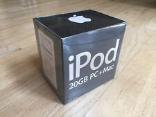 RARE Apple iPod with Color Display 20GB 4th Generation Classic FACTORY SEALED