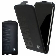 BMW Funda De Cuero Estuche para Apple iPhone x 5.8 PLEGABLE PROTECTORA NEGRA