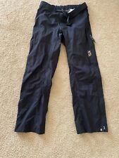 Womens Mountain Hardwear Women's Black XL Pants - Super Lightweight