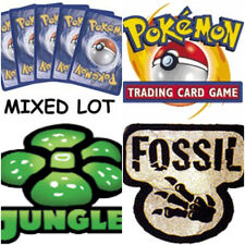 (10) Random Pokemon Cards - Base Set, Jungle & Fossil - Mixed Lot Pack Free Ship