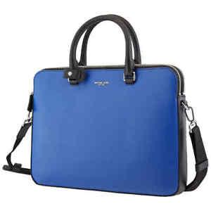Michael Kors Blue Men's Harrison Briefcase 33F9LHYA6L-428