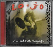 CD ALBUM LIVE 12 TITRES--LO JO--AU CABARET SAUVAGE--2002