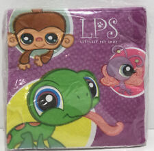Littlest Pet Shop Party Supplies- 16 Beverage Napkins- New In Package!