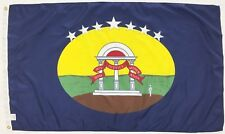 Georgia GA State 1861 Guard Indoor Outdoor Historical Dyed Nylon Flag 3/' X 5/'