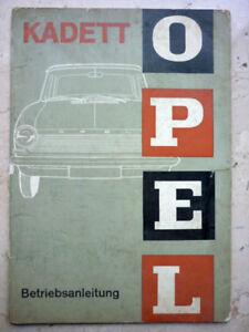 Auto Betriebsanleitung, Opel Kadett von 1964 (Art.3747)