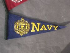 Vintage Navy Felt Pennant Great condition Many more available