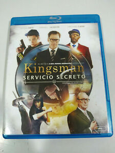 Kingsman Servicio Secreto Colin Firth - Blu-Ray Español Ingles