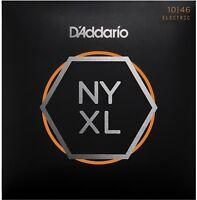 D'Addario NYXL1046 Nickel Wound Regular Light 10-46 Guitar Strings