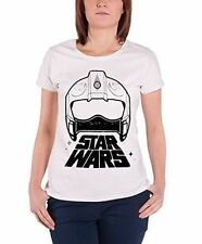 Star Wars T Shirt Force Awakens X-wing Fighter Official Womens SKINNY Fit 14