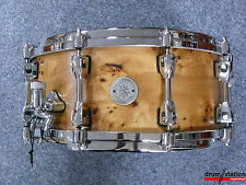 "Tama Starphonic Snaredrum in ""Natural Mapa Burl""  -  14x6""  -  ""Maple"" -  PMM146"