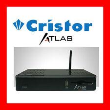 CRISTOR ATLAS HD 200 S E DECODEUR SATELLITE WIFI HD+ NEUF + CADEAUX