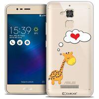"Coque Gel Pour Asus Zenfone 3 Max ZC520TL (5.2"") Extra Fine Souple Love Girafe A"
