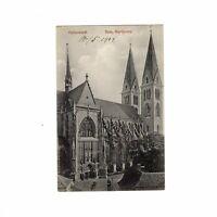 AK Ansichtskarte Halberstadt / Dom / Nordportal - 1909