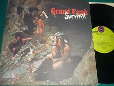 "LP GRAND FUNK RAILROAD ""SURVIVAL"" ORIG US"