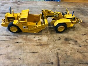 Vintage NZG - Caterpillar 627 Scraper - Diecast Construction Toy - West Germany