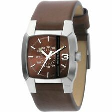 Diesel Cliffhanger Brown Dial Brown Leather Strap Gents Watch DZ1090