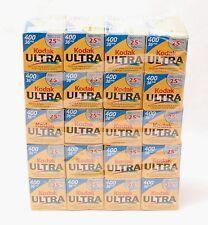 KODAK ULTRA 400 Lote x20 Carrete 36exp 35mm ROLLS FILM rollo negativo ►EXPIRED◄