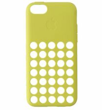 100%GENUINE APPLE MF038ZM/A Silicone Case for iPhone 5C - Yellow -*****NEW*****