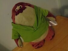 DISNEY STORE EXCLUSIVE MONSTERS INC UNIVERSITY DON CARLTON MONSTER PLUSH DOLL