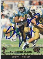 SKIP HICKS Autographed Signed 1998 Press Pass card UCLA Bruins COA