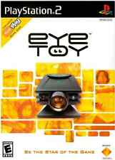Sony EyeToy & Play Game (PlayStation PS2) Be the Star of the Game!**NEW-READ**