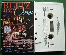 Blitz One Dire Straits Clannad Sade Tears for Fears + Cassette Tape - TESTED