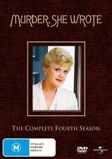 Murder, She Wrote: Season 4 (DVD, 6-Disc Set)  Region 4 - Very Good Condition