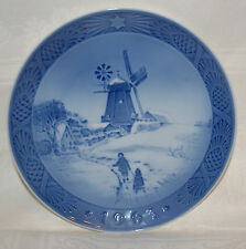 "Royal Copenhagen Collector Plate 'Windmill"" Hojsager Mill - Kai Lange 1963"