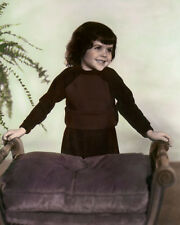 "DARLA JEAN HOOD THE LITTLE RASCALS OUR GANG 8x10"" HAND COLOR TINTED PHOTOGRAPH"